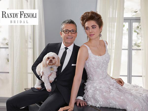 Scopri la Bridal Collection 2019 by Randy Fenoli in un'esposizione esclusiva de L'Atelier della Sposa