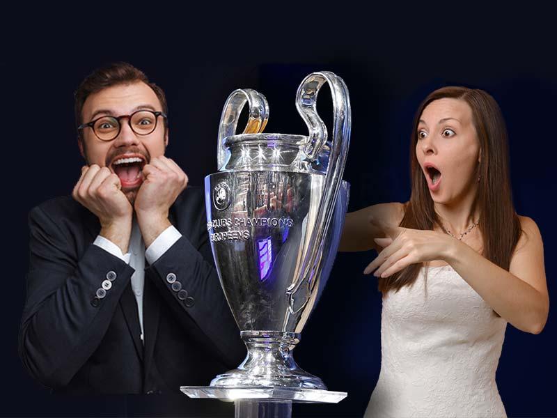 La coppa originale della UEFA Champions League sarà esposta a NOZZE DA SOGNO nello stand Spherix